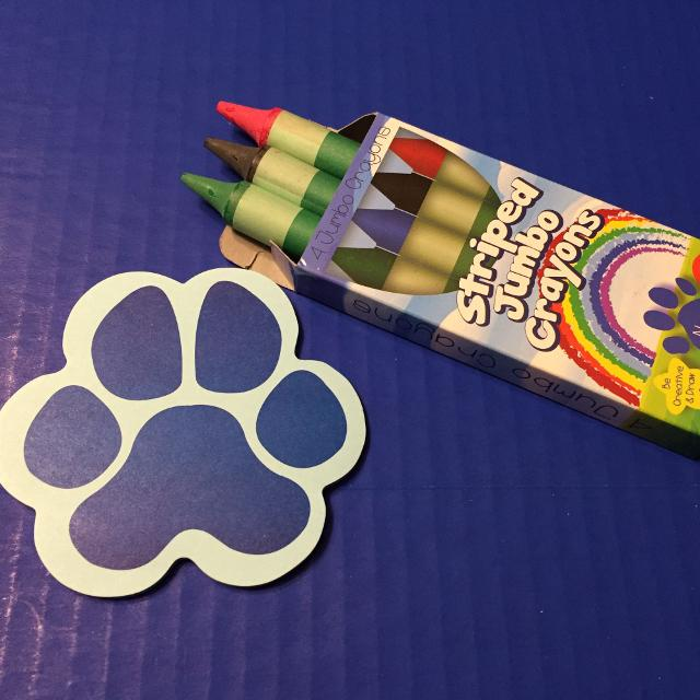 find more blue s clue crayon and post it note for sale at up to 90 off