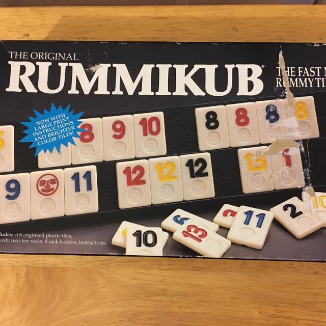 Find More Rummikub Board Game Complete Ages 8 To Adult For Sale At