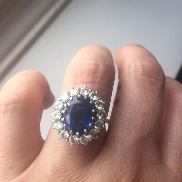 Best Princess Diana Princess Kate Middleton Engagement Ring Replica For Sale In Victoria British Columbia For 2020