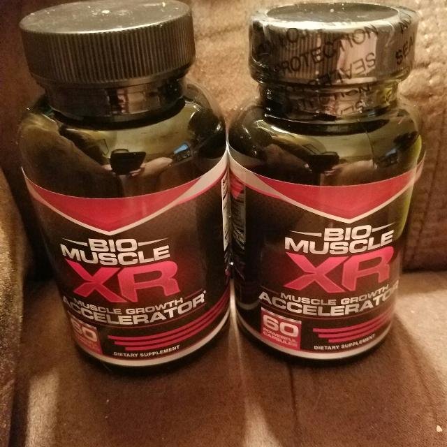 best 2 bottles bio muscle xr muscle growth accelerator for sale in