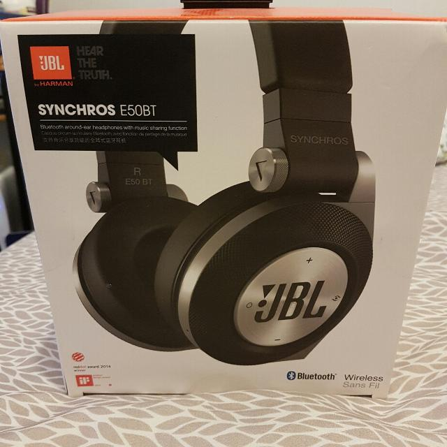 Find More Brand New Unused Over Ear Wireless Jbl Synchros E50bt