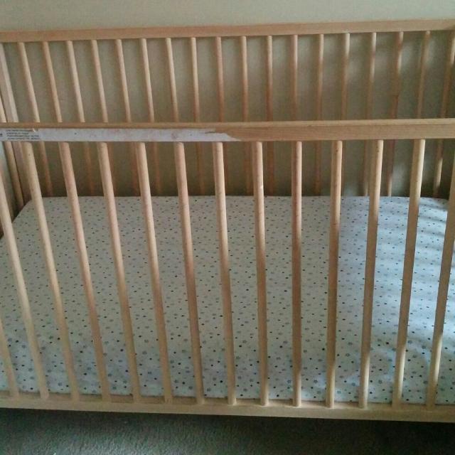 Find More Ikea Sniglar Cribtoddler Bed With Mattress For Sale At Up