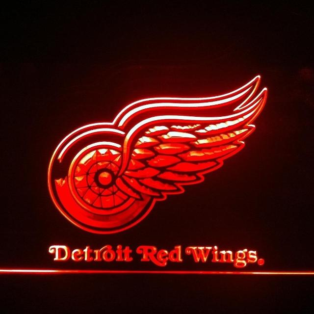 DETROIT RED WINGS LED LIGHTED SIGN