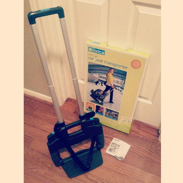 Brica Roll N Go Car Seat Transporter Reduced 20