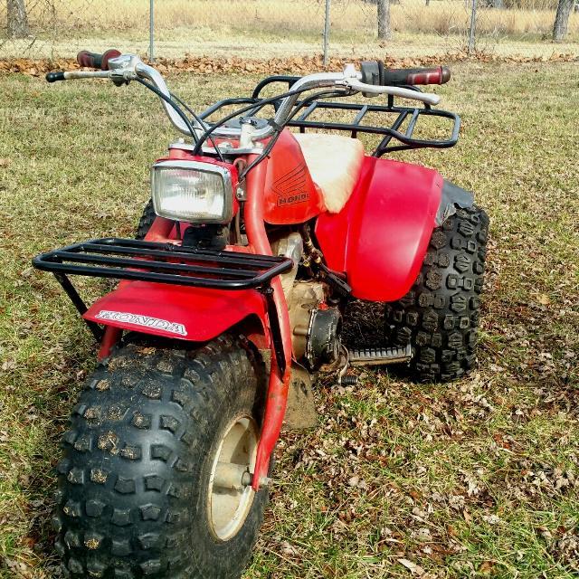 Honda 3 Wheeler For Sale >> 1985 185s Honda 3 Wheeler