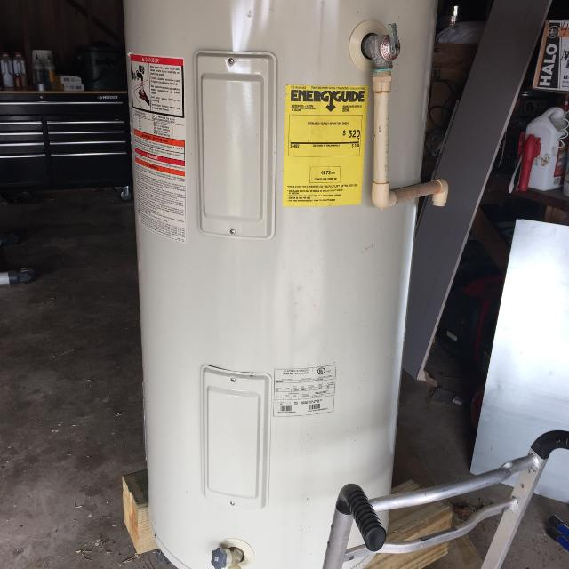 50 Gallon Hot Water Heater Used Electric