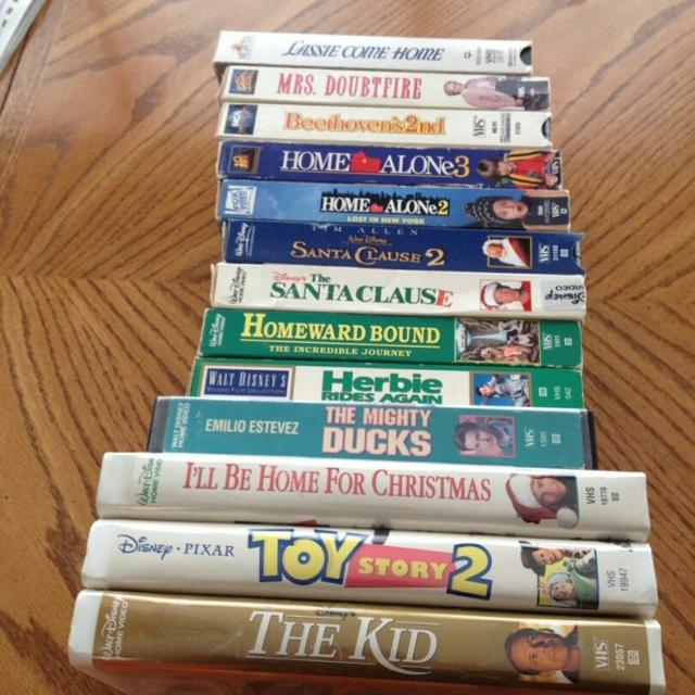 Ill Be Home For Christmas Vhs.Vhs Lot