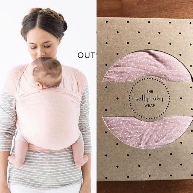 Find More Solly Baby Wrap In Blush Swiss Dot Euc For Sale At Up To