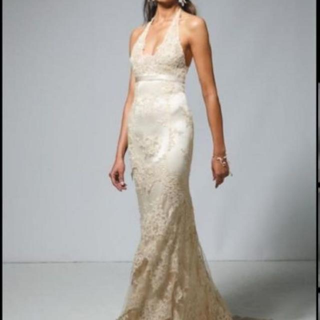 Best Wedding Dress! Cymbeline Agadir French Style Lace Wedding Dress ...