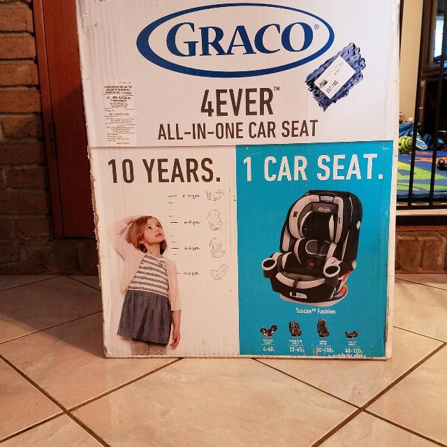 Graco Forever All In One Car Seat