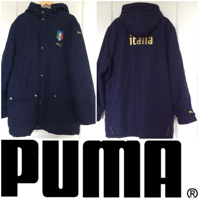 a824713dcc20 Find more Men s Puma Italia Hooded Winter Jacket for sale at up to ...