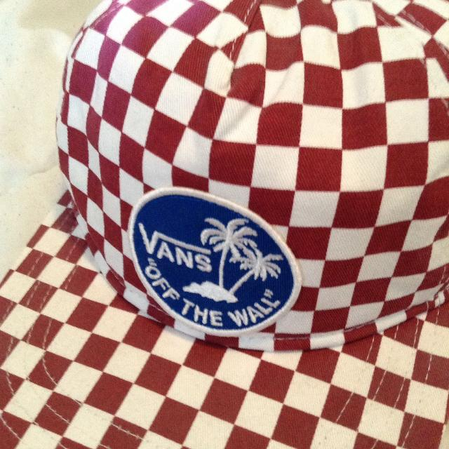 Best Red   White Checkered Vans Hat for sale in Airdrie b34cc68d4a3