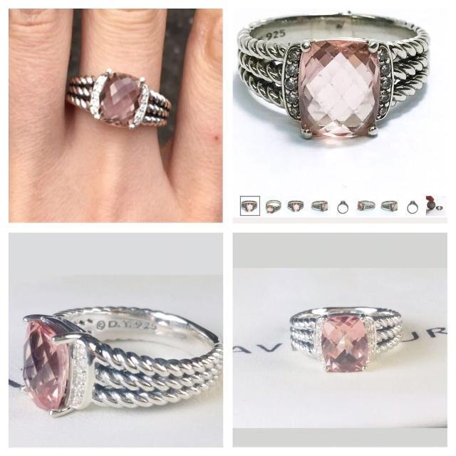 3a5ad1c2e60 Best David Yurman Wheaton Morganite Ring for sale in Mobile