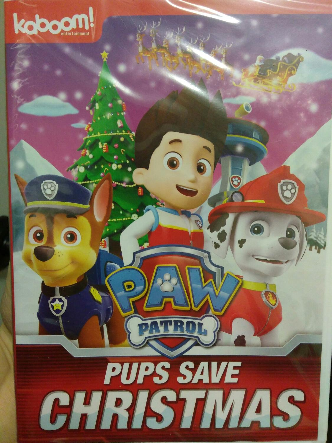 Pups Save Christmas.New In Wrapper Paw Patrol Pups Save Christmas Dvd