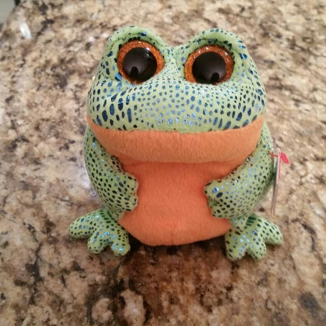 f28690bc605 Best Beanie Boo - Speckles The Frog for sale in Dollard-Des Ormeaux ...