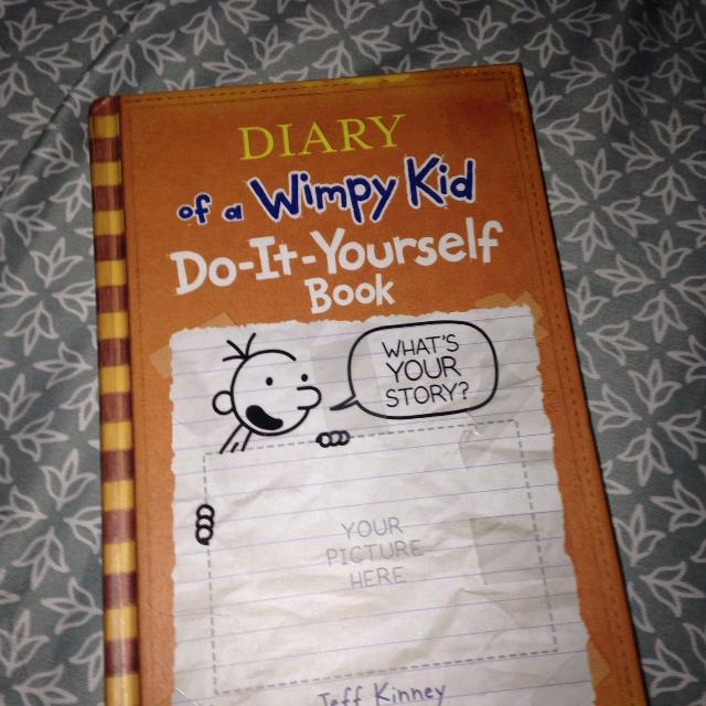 Find more diary of a wimpy kid do it yourself book for sale at up to diary of a wimpy kid do it yourself book solutioingenieria Gallery
