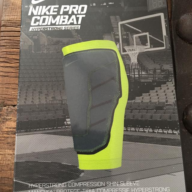 a0ff0d557b Find more Men's Nike Pro Combat Hyperstrong Compression Shin Sleeve ...