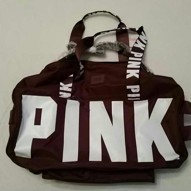 Find more Brand New With Tags Maroon Victoria s Secret Pink Duffel ... 33c1fdbc61070