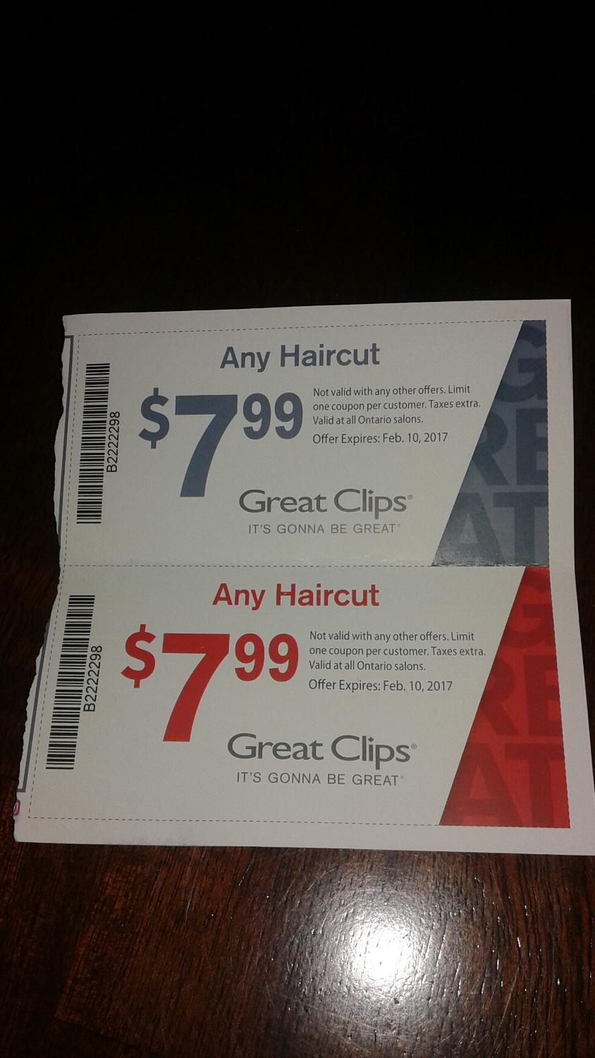 Find More Great Clips Coupons For Sale At Up To 90 Off