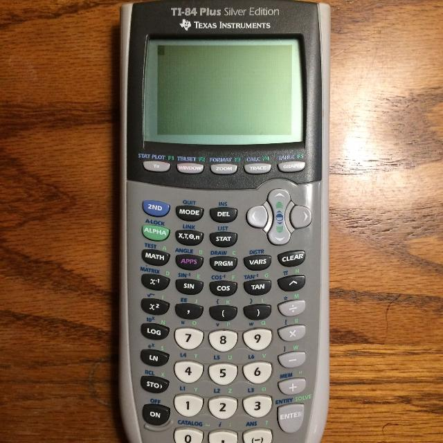 Ti 83 Plus Silver Edition Texas Instruments Graphing Calculator