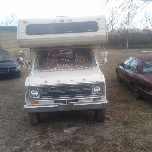 Best 1979 Ford Rv For Sale In White House Tennessee 2019