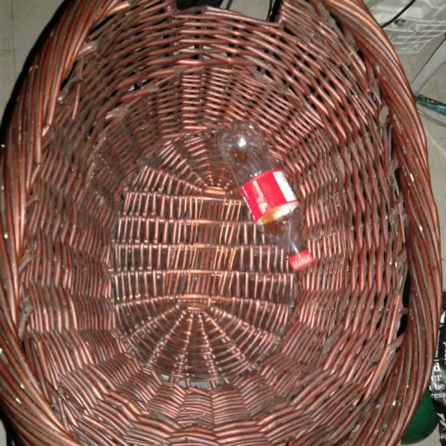 Large basket for gifts even laundry