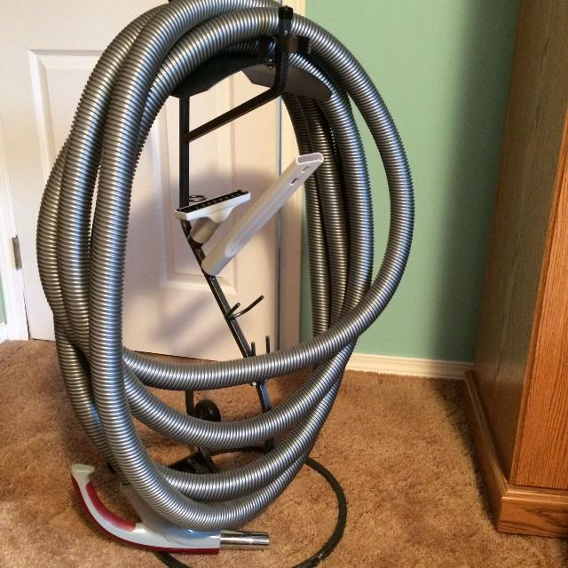 Central Vacuum Hose Hanger Not Included