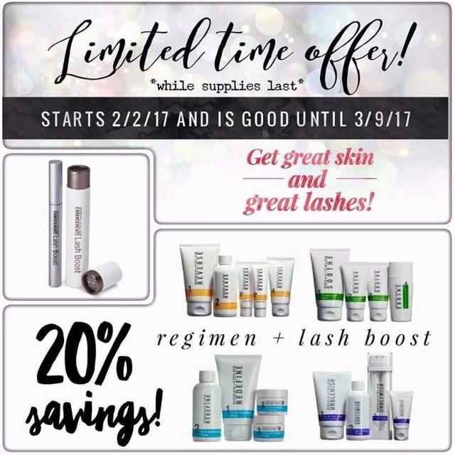 f6f323d33a0 Find more Rodan + Fields Regimen & Lash Boost Combo for sale at up ...