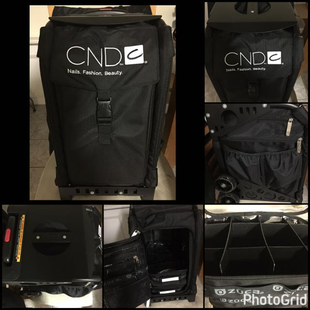 Cnd Zuca Nail Tech Rolling Bag Obo Serious Inquiries Only