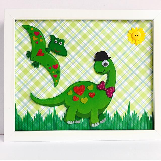 best kids dinosaur frame nursery wall decor children s dino art