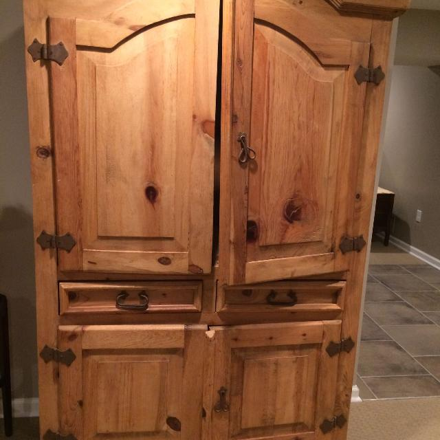 Find More Rustic Wooden Armoire For Sale At Up To 90 Off