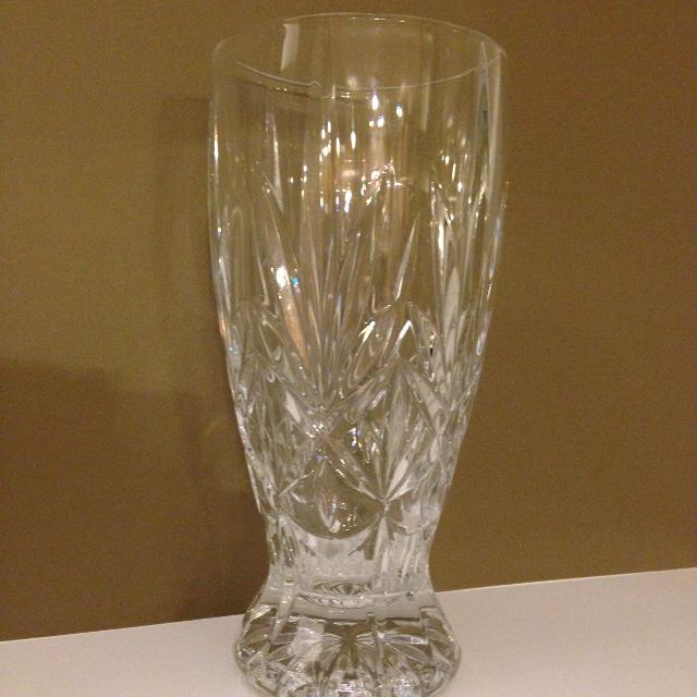 Find More Tall Crystal Vase 12 Price Reduced From 50 For Sale