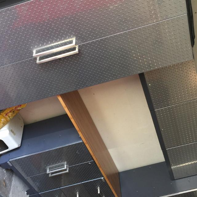 For Sale Diamond Plate Garage Cabinets
