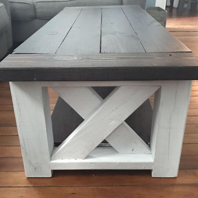 Mobile Coffee Table.Custom Handmade Coffee Table