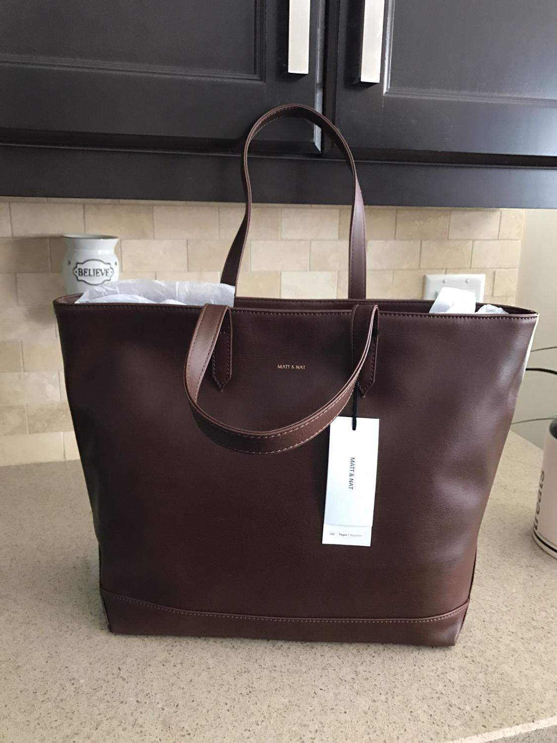 85eddc67b Find more New W/ Tags Matt & Nat Schlepp Tote In Coffee Color for ...