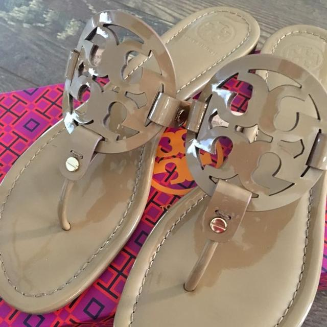 04f8c76e0e897a Find more Tory Burch Miller Sandals Size 10 for sale at up to 90% off
