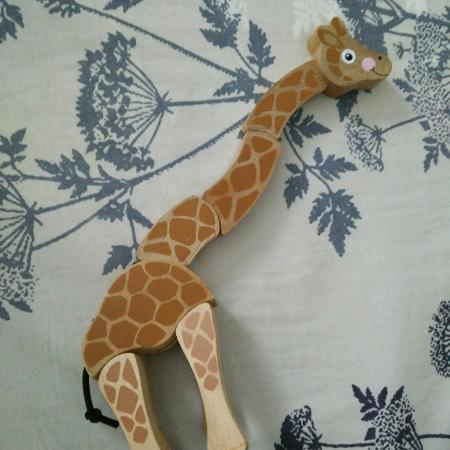 Baby wooden giraffe toy free for sale  Canada