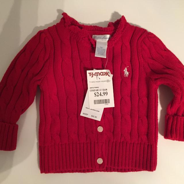 e56378c0eaef Find more Polo Ralph Lauren Baby Girl Cardigan for sale at up to 90% off