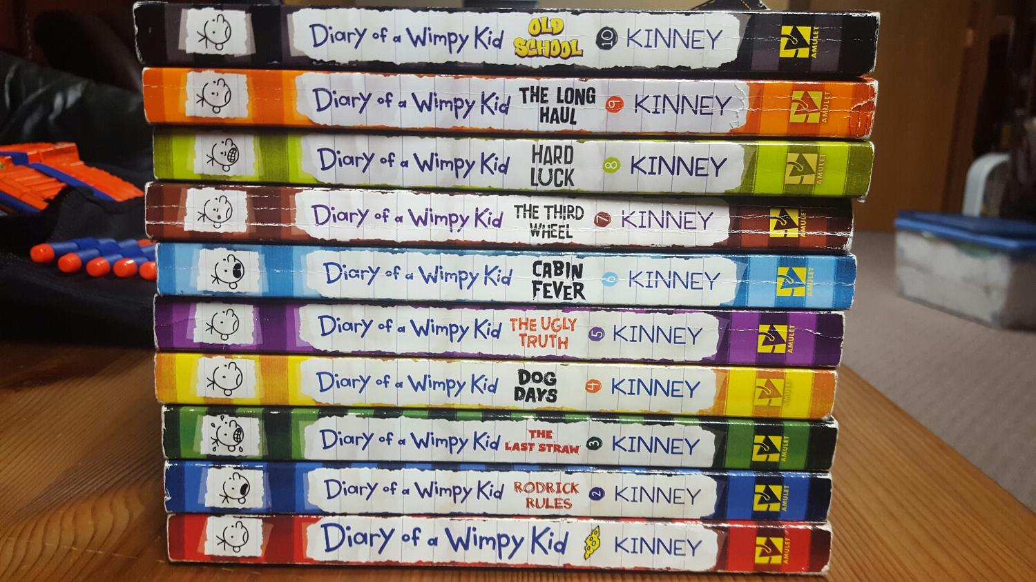 the diary of a wimpy kid book 1 pdf