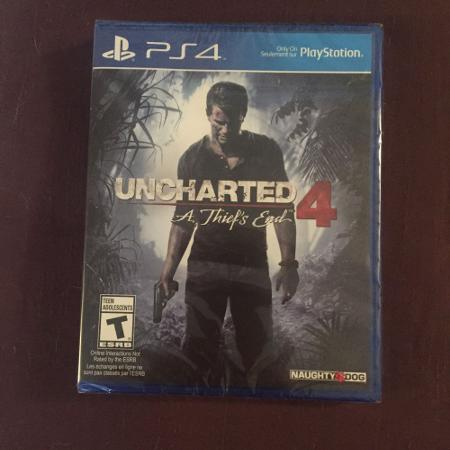Brand new Uncharted 4 game - reduced..., used for sale  Canada