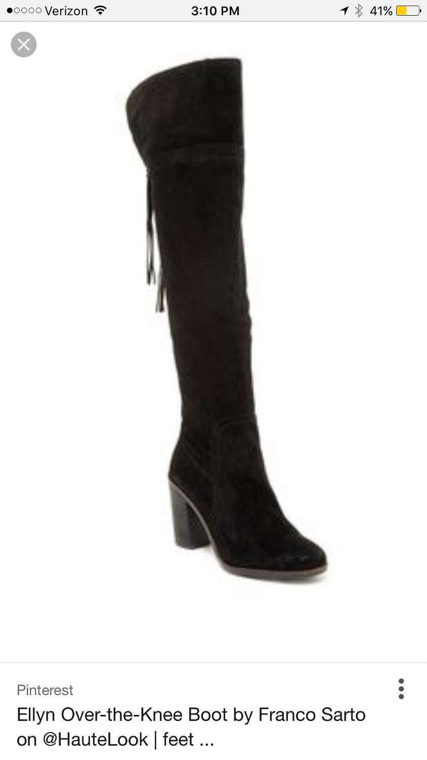 0e2b9dc3d87 Best Franco Sarto Ellyn Over The Knee Boots for sale in Kerrville ...