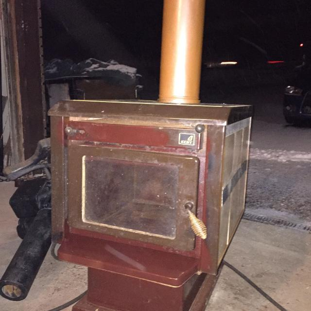 TILE FIRE STOVE KENT - VINTAGE WOOD HEATER IRON - Best Tile Fire Stove Kent - Vintage Wood Heater Iron For Sale In
