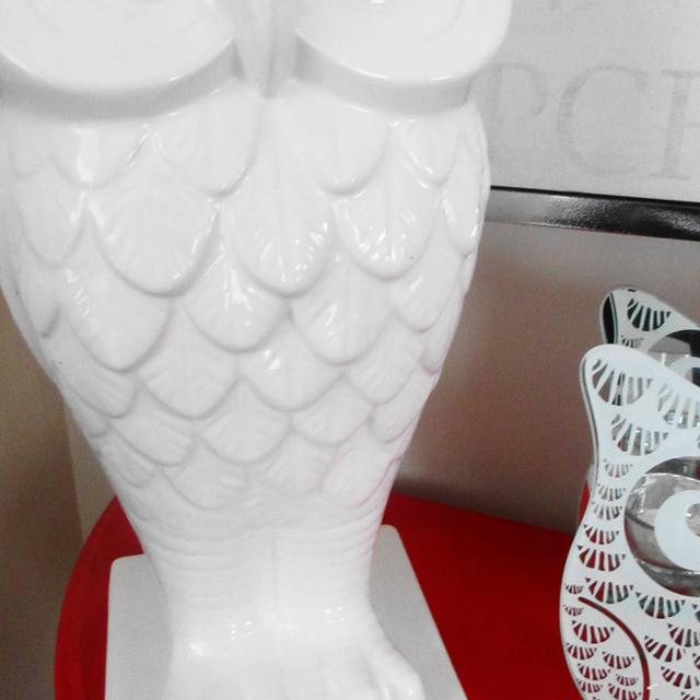 Find More Large White Ceramic Owl Vase For Sale At Up To 90 Off