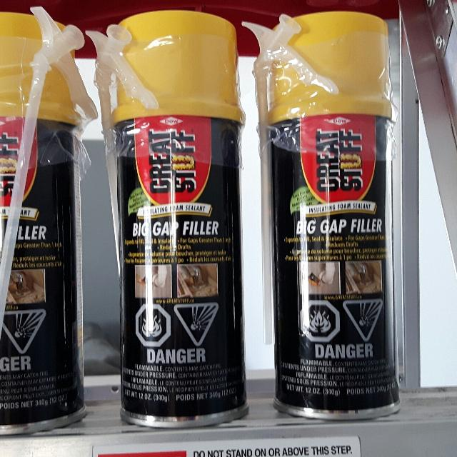 Find more 3 Included Dow Great Stuff Big Gap Filler