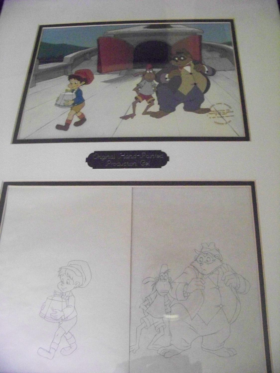 Disney Animation Cell
