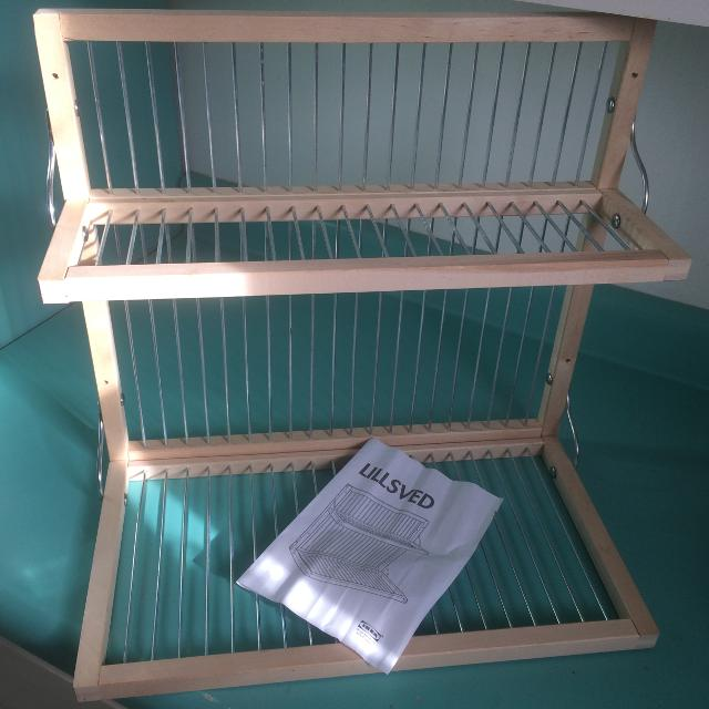 Find more Ikea Lillsved Wall Hanging Dish Rack/dryer for sale at up ...