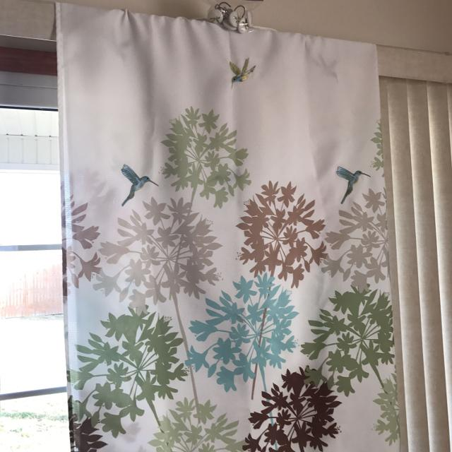 Hummingbirds Shower Curtain Fabric Withceramic Hooks From Kohls Very Nice Barely Used