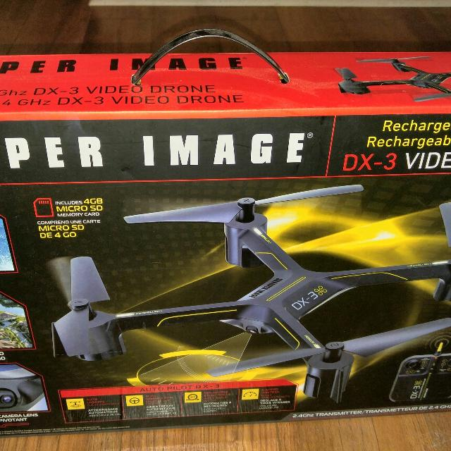 Find More Sharper Image Dx 3 Video Drone Price Drop For Sale At