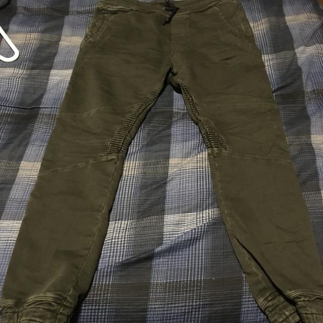 b9bdf9bf Find more Zara Soft Denim Joggers (olive) for sale at up to 90% off