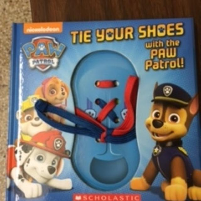 Find more tie your shoes with the paw patrol book new for sale at tie your shoes with the paw patrol book new ccuart Gallery